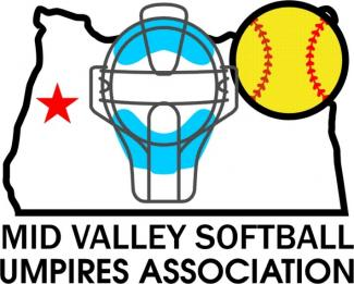Mid Valley Softball Umpires Association Logo